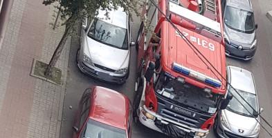 Strażacy w Sochaczewie nie mają łatwo. Gratulacje dla kierującego-54667