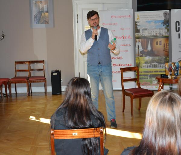 Michał Gołkowski w Sannikach. To było energetyczne spotkanie-54688