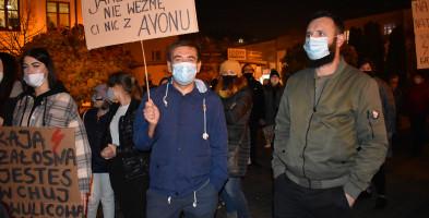 Strajk Kobiet Sochaczew dzień piąty. Mówią, że będą tu codziennie i do końca-55183