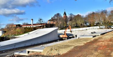 Sochaczewski amfiteatr pięknieje. Sprawdzamy postęp prac FOTO-55427