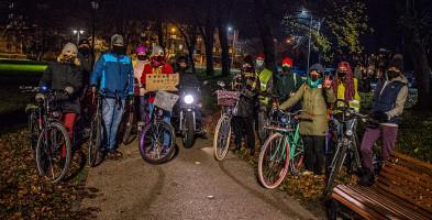 Rowerowa masa krytyczna Sochaczew 2020. Strajk Kobiet przypomniał o sobie-55435