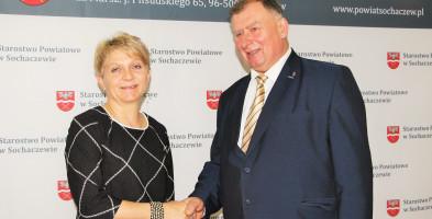 Iwona Szlaga zaprzysiężona na radną Rady Powiatu Sochaczew-55497