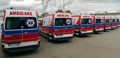 10 nowych ambulansów dla mazowieckich stacji pogotowia ratunkowego-55986