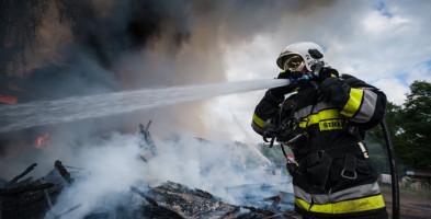 KPPSP Sochaczew podsumowuje rok 2020. Najwięcej od lat ofiar śmiertelnych pożarów-56142