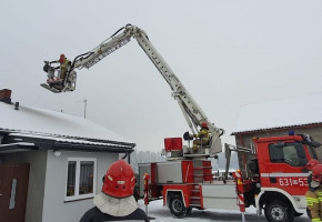 Pożar w Sarnowie. Konieczne było dodatkowe wsparcie-56147