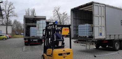 Mazowieckie szpitale: dotarła pomoc od Niemiec w walce z covid-56240