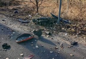 Wypadek w gminie Wiskitki, kierowcy skutera nie udało się uratować. Apelujemy-56774