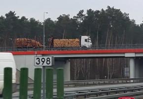Utrudnienia na DK 70 wjazd na autostradę A2. Pas w kierunku Skierniewic zablokowany-56777
