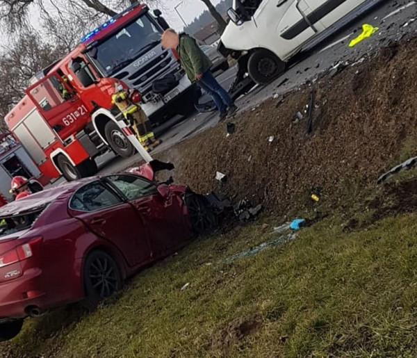Wypadek w Kożuszkach Parcel. DK 92 całkowicie zablokowana AKTUALIZACJA-56788