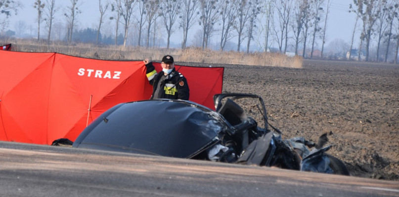 Policja poszukuje świadków śmiertelnego wypadku w gminie Wiskitki na DK 50