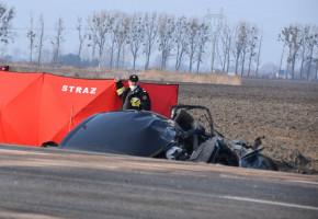 Policja poszukuje świadków śmiertelnego wypadku w gminie Wiskitki na DK 50-57424