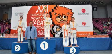 XXI Puchar Polski Dzieci. Brązowy medal Karate Klubu Sochaczew-58402