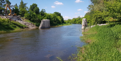 Chodaków i most, którego już nie ma FOTO VIDEO-58403