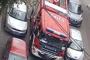 Strażacy w Sochaczewie na codziennym torze przeszkód-9575