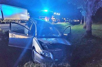 Kożuszki - Kolonia: zderzenie osobówki z ciężarówką-9583