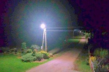 Gmina Rybno. Oświetlenie uliczne uruchomione-9711