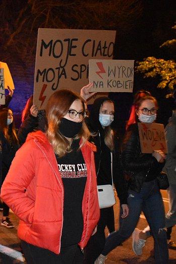 Strajk Kobiet w Sochaczewie 27 października-9718
