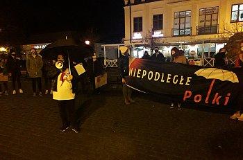Strajk Kobiet Sochaczew dzień szósty-9723