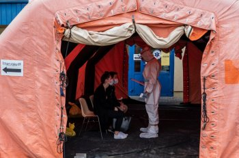 Żołnierze z Bielic zaangażowani w walkę z COVID-19. Szpital w Sochaczewie już otrzymał wsparcie-9779