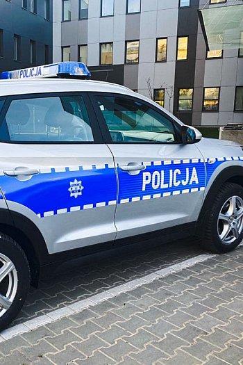 Nowy radiowóz w KPP Sochaczew-9791