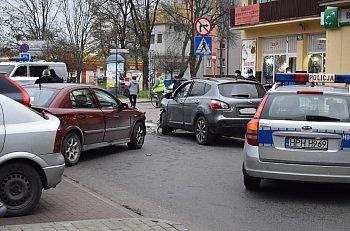 Zderzenie czterech samochodów przy Żeromskiego-9793