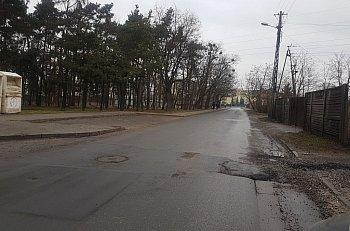 Ul. Kochanowskiego w Sochaczewie niebezpieczna-10075