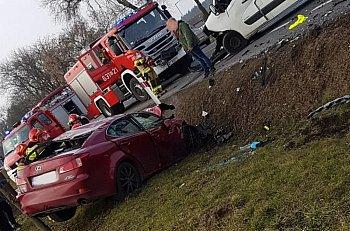Wypadek w Kożuszkach Parcel-10079