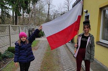 SP Brzozów uczniowie uczcili święto Chrztu Polski-10234