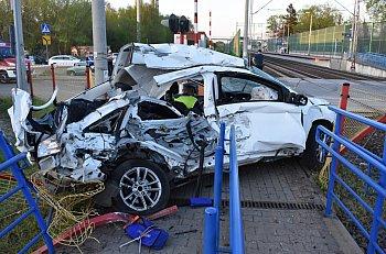 Radziwiłłów wypadek na przejeździe kolejowym-10323