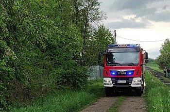 Śladów: strażacy OSP Kromnów usuwali szkody po burzy-10336