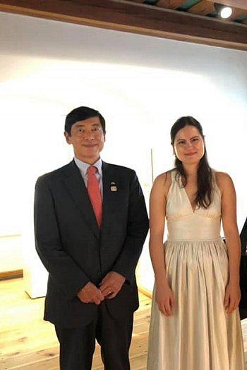 Żelazowa Wola: wizyta ambasadora Japonii-10621