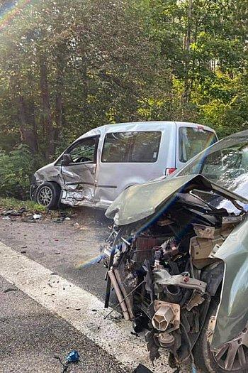 Wypadek w Wółce Smolanej-10830