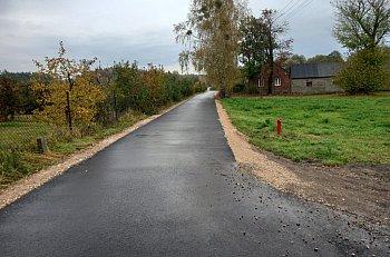 Remont drogi powiatowej w Zakrzewie zakończony-10935