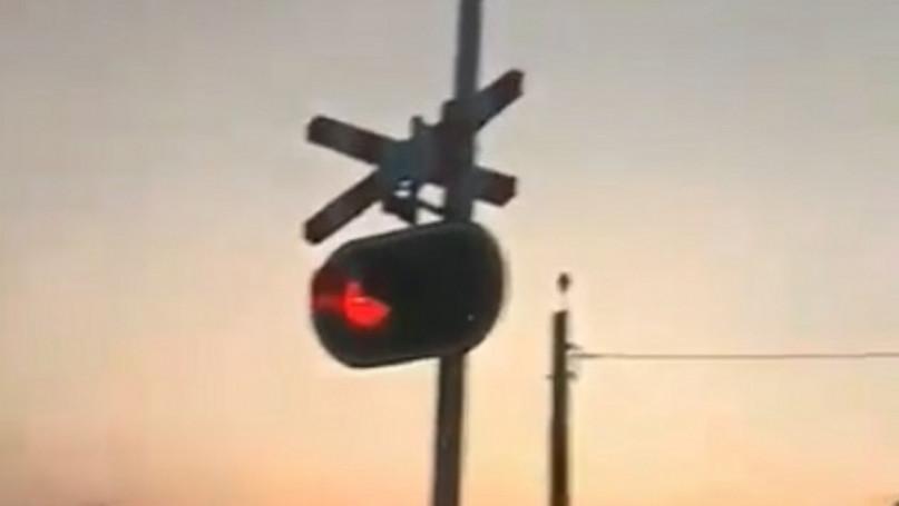 Awaria sygnalizatora drogowego w Chodakowie
