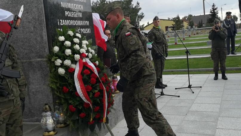 17.09.2019 Złożenie kwiatów od premiera Morawiecki