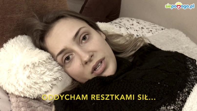 Maja Kapłon: oddycham resztkami sił