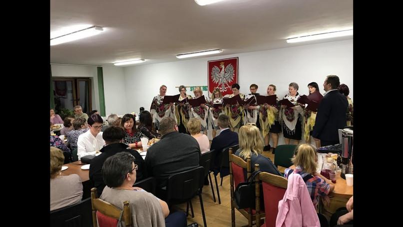 Spotkanie przy pączku w gminie Rybno