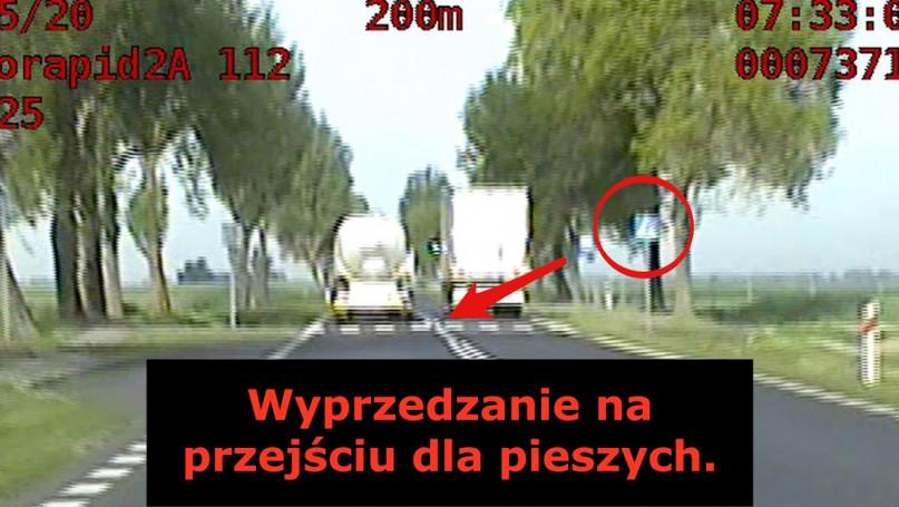 Policyjna akcja z  drona