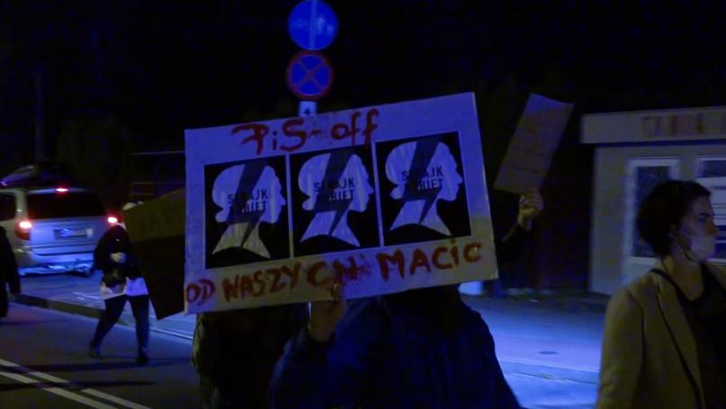 Strajk kobiet Sochaczw 24 października 2020