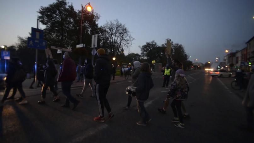 Strajk Kobiet w Sochaczewie 26 października