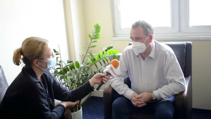 Dyrektor Robert Skowronek o sytuacji w szpitalu