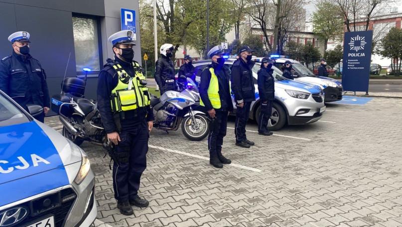 KPP Sochaczew: policjanci oddali hołd koledze