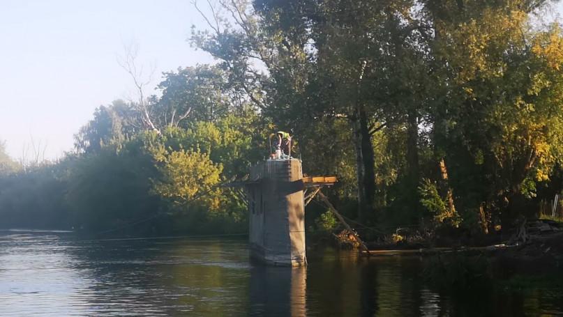Budowa mostu w Chodakowie 10.09.2021